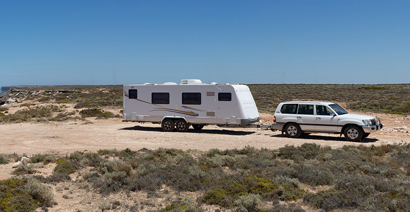 Caravan with 4wd - Loans from Ezilend - Easy finance
