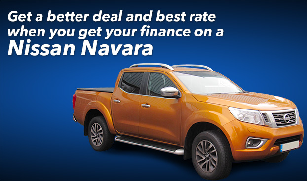 Get a better deal and best rate when you get your finance on a Nissan Navara