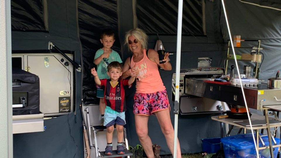 happy ezilend camper trailer customer testimonial