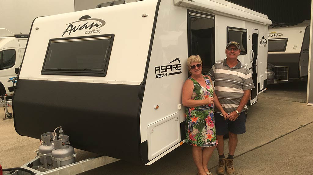 new caravan purchase - client testimonial